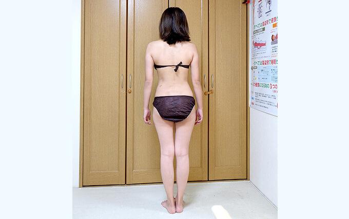 体重・体脂肪率・筋肉量・代謝率を確認