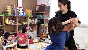 産後ママカイロプラティックと子どもたち2
